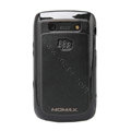 MOMAX silicone case for BlackBerry 9700 - black