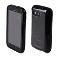 MOMAX silicone case for Motorola ME525 Defy MB525 - black