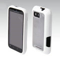 MOMAX silicone case for Motorola ME525 Defy MB525 - white