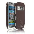IMAK Ultra-thin color cover case for Nokia C7 - Brown