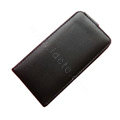 Simple Leather Case For Motorola XT701 - black