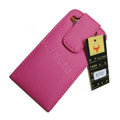 Simple Leather Case For Motorola XT701 - pink