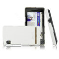 IMAK Ultra-thin color covers for Motorola XT702 - white