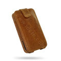 Springhk leather case for Motorola Atrix 4G MB860 - brown