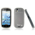 IMAK Silicone case for Motorola XT800 - white