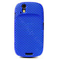Ultra-thin mesh case for Motorola XT800 - blue