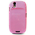 Ultra-thin mesh case for Motorola XT800 - pink