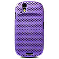 Ultra-thin mesh case for Motorola XT800 - purple