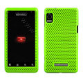 Mesh case for Motorola A955 - green