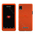 Mesh case for Motorola A955 - orange