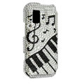 Piano keys bling crystal case for Nokia N97 mini