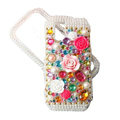 Rose flower bling crystal case for Nokia N97 mini