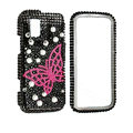 Butterfly bling crystal case for Nokia N97 mini