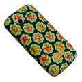 Flower Color Painting Protective Case for HTC G14