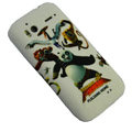 Kung Fu Panda Color Painting Protective Case for HTC G14