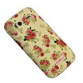 Rose Flower Color Painting Protective Case for HTC G14