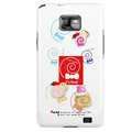 Cake pattern Silicone Case For Motorola MB860