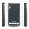 IMAK Silicone case for Motorola ME722 - black