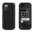 Mesh case cover for Nokia N97 mini - black
