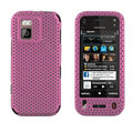 Mesh case cover for Nokia N97 mini - pink