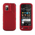 Mesh case cover for Nokia N97 mini - red