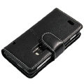 AIKE Leather Case For Nokia E7 - black