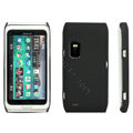 ROCK Ultra-thin color covers for Nokia E7 - black