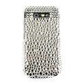 Bling crystal case for Nokia E71 - white