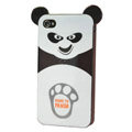 Kung Fu Panda silicone case cover for iphone 4G