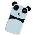 with ears Panda hard back cover for iphone 4G - GG