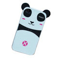 with ears Panda hard back cover for iphone 4G - MM