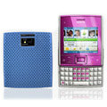 Mesh case cover for Nokia X5-01 - blue