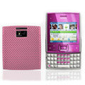 Mesh case cover for Nokia X5-01 - pink