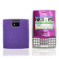 Mesh case cover for Nokia X5-01 - purple