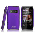 IMAK ultra-thin matte color cover for Nokia X7 - purple