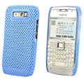 Mesh case cover for Nokia E71 - blue
