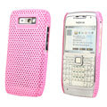 Mesh case cover for Nokia E71 - pink