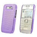 Mesh case cover for Nokia E71 - purple