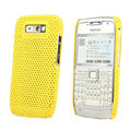 Mesh case cover for Nokia E71 - yellow