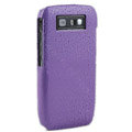 Three-dimensional droplets color covers for Nokia E71 - purple