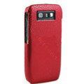 Three-dimensional droplets color covers for Nokia E71 - red