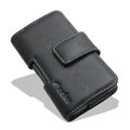 Melkco leather holster case for Nokia X7 - black