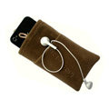 Mofi Soft Cloth Case for Nokia X7 - brown