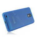 NILLKIN matte silicone case for Samsung i997 infuse 4G - blue