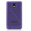 NILLKIN matte silicone case for Samsung i997 infuse 4G - purple
