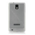 NILLKIN matte silicone case for Samsung i997 infuse 4G - white