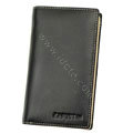 leather holster case for Samsung i997 infuse 4G - black EB002