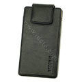 leather holster case for Samsung i997 infuse 4G - black EB003