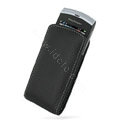 PDair holster leather case for Sony Ericsson Vivaz U5i - black EB005