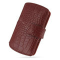 PDair holster leather case for Sony Ericsson Vivaz U5i - red EB003